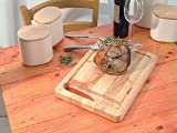 Stow Heavy Duty Rubber Wood Carving Board with Spikes