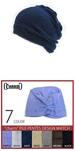Casualbox Femmes Chapeau Nuit Chapeau Chaud Transpiration Absorber Beige