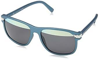 Police Herren Sonnenbrille SPL231 Silber (SEMI MATT MET.FULL GREEN OIL) Einheitsgröße