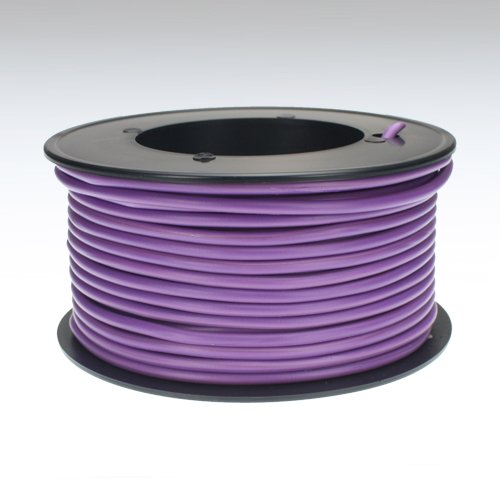 Preisvergleich Produktbild Kabel 2, 5 qmm lila 25m Litze Leitung Fahrzeug Auto