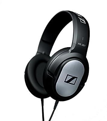 Sennheiser HD 201 Cuffie Circumaurale Dinamica Over-Ear Stereo, Modello Chiuso, Nera con rifiniture Silver, cavo 3mt. al miglior prezzo - Polaris Audio Hi Fi