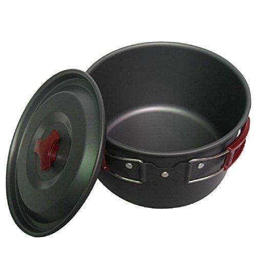 GMM 3L Camping Pot Outdoor Ausrüstung Geschirr Pot Sets Großer Topf