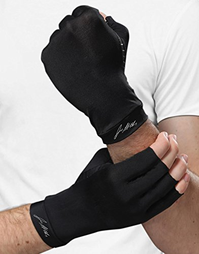 1a1d9c17a5 Dr. Arthritis - Copper Infused Arthritis Compression Gloves [PAIR] and Doctor  Written Handbook