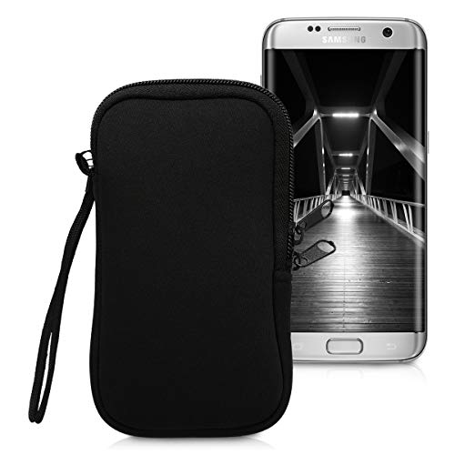kwmobile Funda para móviles M - 5,5' - Estuche de [Neopreno] con [Cierre] para...