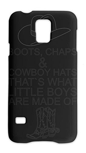 Boots Chaps & Cowboy Hats That's What Slogan Samsung Galaxy S5 Plastic Case Chap-boot