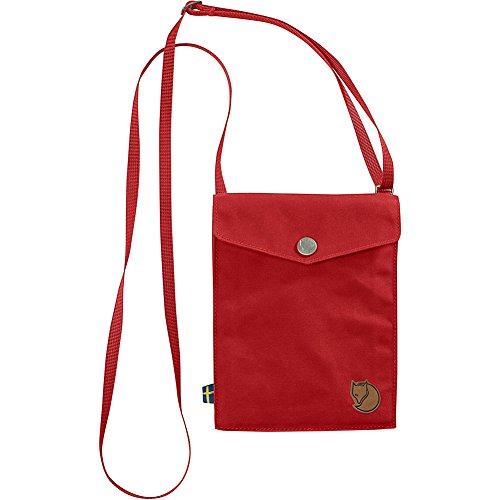 Fjällräven Unisex Pocket Schultertasche Red