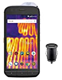 Caterpillar Cat S61 Smartphone (13,21 cm (5.2 pollici) display FHD IPS, 64 GB di memoria interna e 4 GB RAM, Dual SIM, Android 8.0) Nero - Esclusivo Amazon Edition con adattatore 12 V per auto