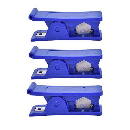 3 stücke Rohrschneider, kunststoff wirtschaftlich rohrschneider weichgummi silikon pvc nylon kunststoffrohr rohrschneider schneidwerkzeug für Schläuche und Schutzrohre -