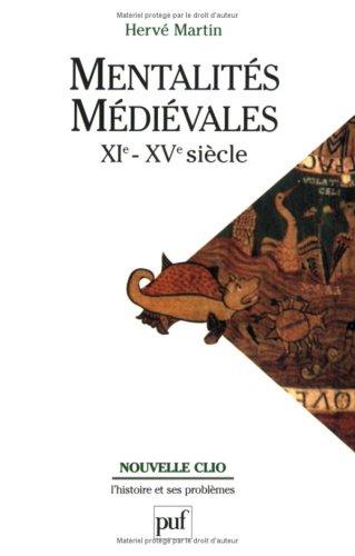 Mentalités médiévales, XIe-XVe siècle