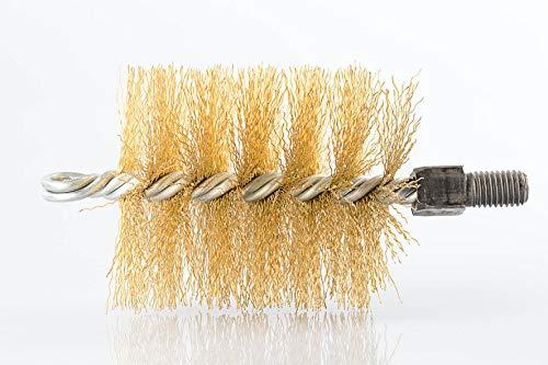 Baretto - scovolo 130mm in acciaio, spazzola pulizia camino stufa a pellet tubi canna fumaria