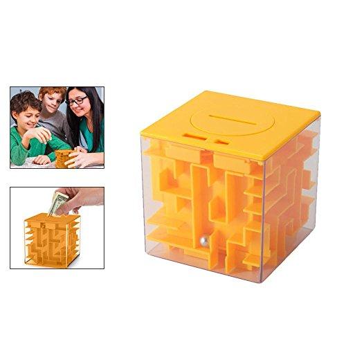 FOONEE caja de rompecabezas de laberinto de dinero