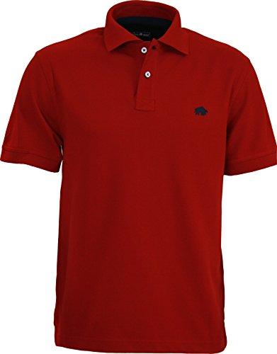 Raging Bull New Signature Poloshirt, Herren M rot