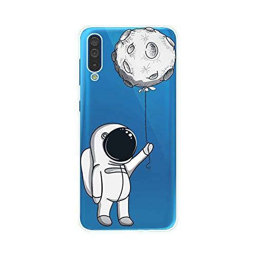Felfy Kompatibel mit Galaxy A40 Hülle,Kompatibel mit Galaxy A40 Case Transparent Silikon Gel TPU Handy Hülle Ultra Dünn Schutzhülle mit Bunt Muster Handyhülle Stoßfest Hüllen Back Cover Case Tasche (Handy-back-up-kamera)