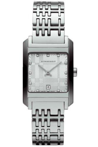 Burberry Heritage Swiss analógico cuarzo inoxidable diamond bu1583–Reloj para mujer