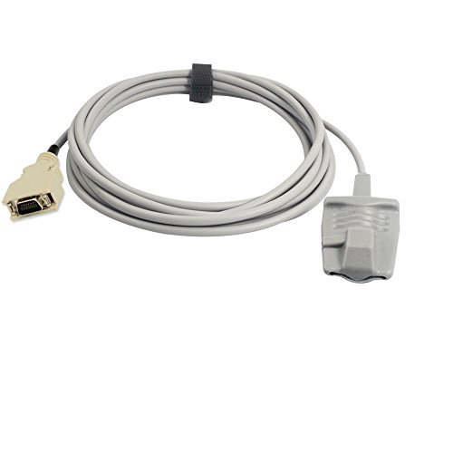 Sino-k Kompatibel für Masimo Pulsoximeter-Sensor Adult Soft 9.8 ft 14 Pins Stecker Fda/CE Approved