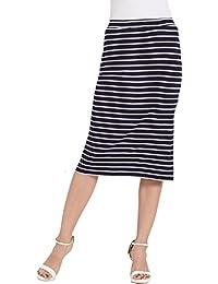 Globus Bodycon Stripe Skirt