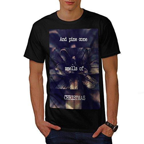 Kiefer Kegel Baum Weihnachten Ferien Herren S T-shirt   Wellcoda (Schnee Kegel Kostüm Ideen)