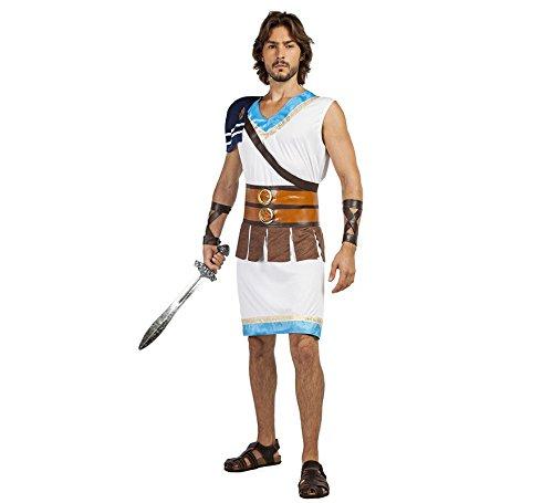"Imagen de disfraz guerrero griego talla m/l tama""o adulto"