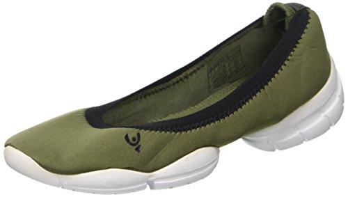 FREDDY 3proballerina, Chaussures de Fitness Femme, Bleu Verde (Verde)