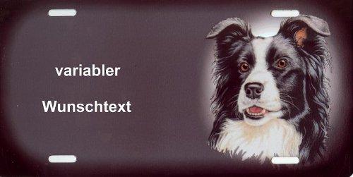 Hundeschilder selbst gestalten Border Collie - Hundewarnschilder