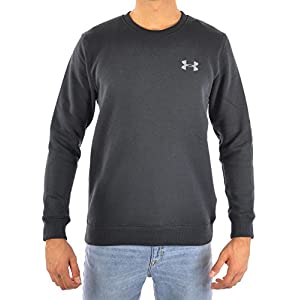 Under Armour - Rival Solid Fitted Crew, Felpa Uomo 6 spesavip