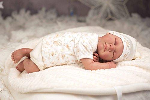 Maravilloso Bebé Reborn Arias acostadito, de gran realismo