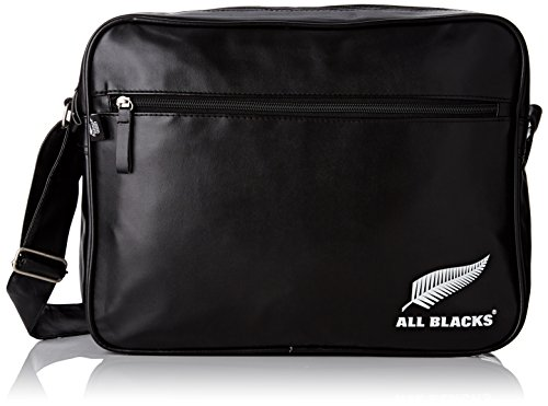 All Blacks 153ALL205ARL Besace Mixte Enfant, Noir/Blanc