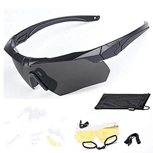EPRHY Crossbow Panzerbrille für Männer und Frauen Taktische Brille Outdoor Shooting Armbrust PC