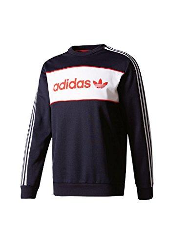 adidas Herren Block Crew Sweatshirt Mehrfarbig - (TINLEY)