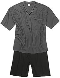 Adamo Fashion XXL Pijama corto en gris oscuro