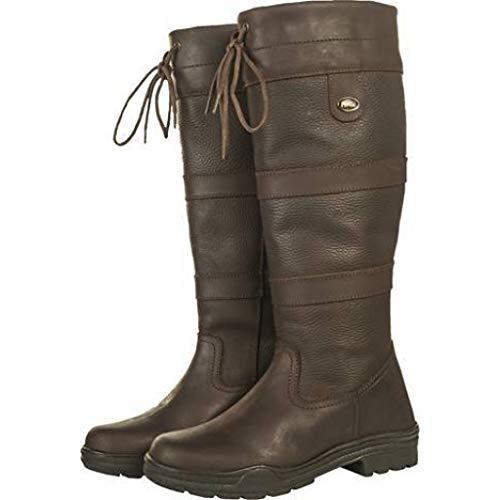 HKM Stiefel Belmont Winter, Farbe:2100 dunkelbraun, Größe:39