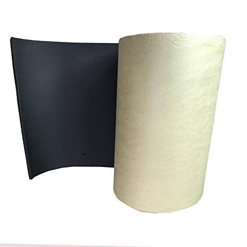 Supmico 6 X auto insonorizzazione isolamento fonoassorbente chiuso Antirombo Antivibrante Foam Adesivo Stuoia 7MM 30cm X 50cm