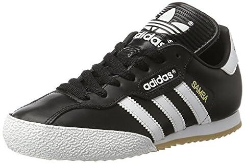 adidas Herren Samba Super Turnschuhe, Schwarz (Black/Running White Ftw), 44 2/3 EU