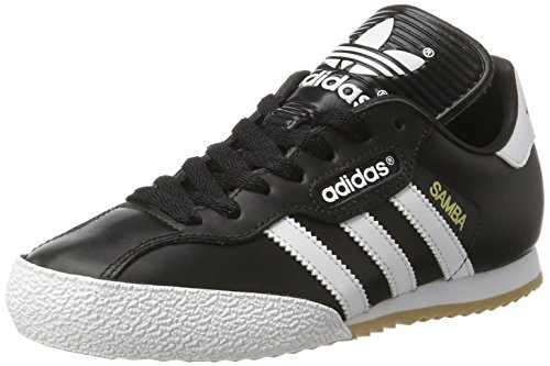 designer fashion c05ff 5003e adidas Mens Samba Super Gymnastics Shoes, Black (BlackRunning White  Footwear),