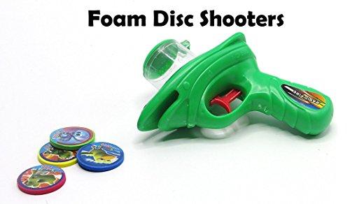 �en Schaum Sport Erstaunlich Sprengung Shooter Pistole schießen Disc bis zu 20 Meter! durch Packung von 2 Pistolen Hergestellt ()