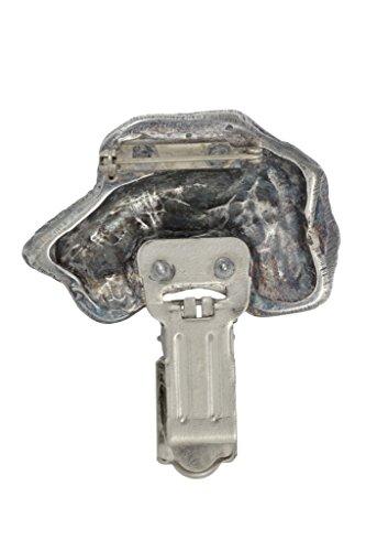 Irish Wolfhund, Hund clipring, Hundeausstellung Ringclip/Rufnummerninhaber, limitierte Auflage, Artdog - 2