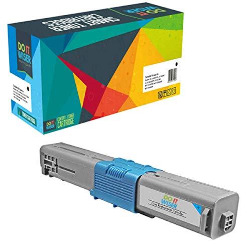 Do it Wiser Kompatible Toner als Ersatz für Oki C531DN MC562 MC562DNW C511DN C510 C510DN C511 C530DN C531 MC561 MC561DN MC562DN MC562W 44469724 (Cyan)