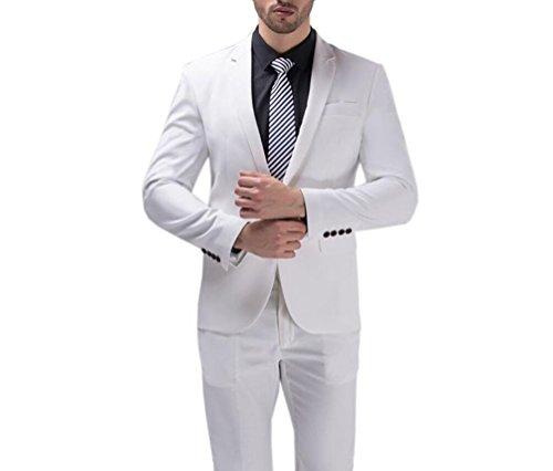 Poshawn - Veste de costume - Homme Blanc