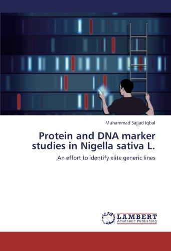 Protein and DNA marker studies in Nigella sativa L.: An effort to identify elite generic lines - Protein-marker