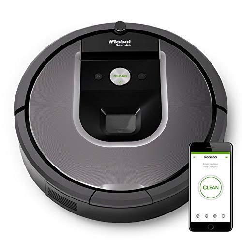 iRobot Roomba 960 Robot Aspirapolvere Wi-Fi (Ricondizionato) )