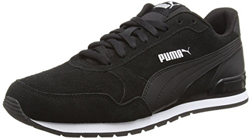 Puma Unisex-Erwachsene ST Runner v2 SD Sneaker, Schwarz Black 01, 44.5 EU