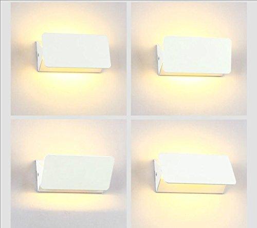 Moderne lampe murale led simple pour simple décoration chevet Café Restaurant Salon Chambre à coucher Bureau Couloir appliques de l'industrie de l'action de Noël cadeaux de décoration, 320 * 80 * 55mm