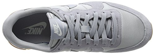 Nike Damen Wmns Internationalist Low-Top Grau (Wolf Grey/wolf Grey/sail)