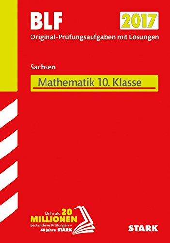 Preisvergleich Produktbild Besondere Leistungsfeststellung Gymnasium Mathematik 10. Klasse Sachsen