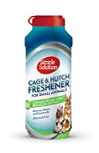 Simple Solution Cage e Hutch Freshener con Granuli di Pulizia Enzimatici per Piccoli Animali