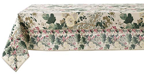 Blanc Mariclo Nappe Primerose Collection 160 x 220 en Coton
