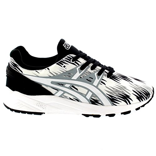 ASICS Gel-kayano Trainer Evo H622n-9090-10, Sneakers Basses adulte mixte Schwarz (black/white 9001)