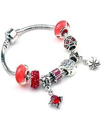 Bracelet femme, Bracelet Fantaisie, Bracelet Charms. Collection avec motifs interchangeables et personnalisables, le bracelet bijou femme que vous recherchiez.