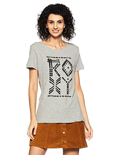 Roxy Damen Screen Tee CREWRXYTRIBES J, grau, XS