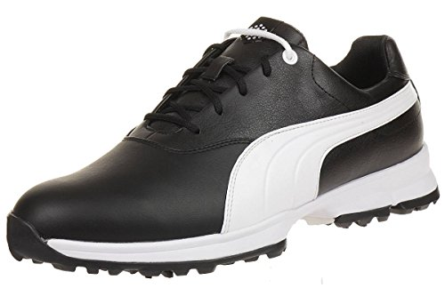 Puma Golf Ace Leather Men Golfschuhe Golf 188658 04 black,...